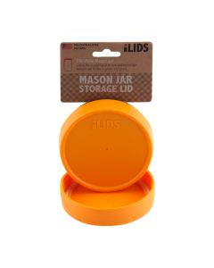 Storage Lid for Mason Jar iLid Wide Mouth  OrangeIL WM Storage Orange