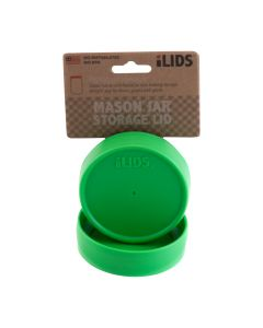 Storage Lid for Mason Jar iLid Regular Mouth_ Grass GreenIL RM Storage Grass Green