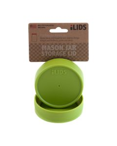 Storage Lid for Mason Jar iLid Regular Mouth_ Lime GreenIL RM Storage Lime Green