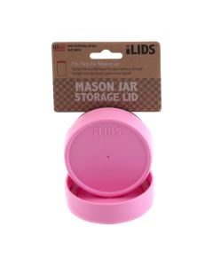 Storage Lid for Mason Jar iLid Regular Mouth PinkIL RM Storage Pink