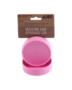 Storage Lid for Mason Jar iLid Regular Mouth PinkIL RM Storage Pink
