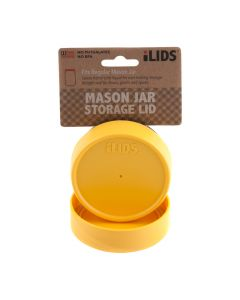 Storage Lid for Mason Jar iLid Regular Mouth YellowIL RM Storage Yellow