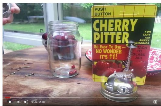 Cherry Pitter How To Use