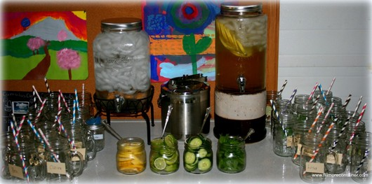 Fruit & Herb Infused Water Bar