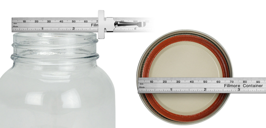 How to Measure Jars and Lids